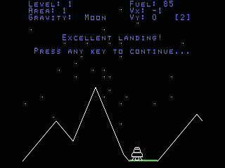 TI Lander in-game shot