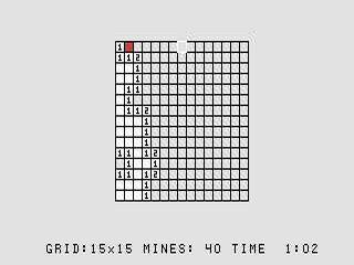 Mine Field in-game shot