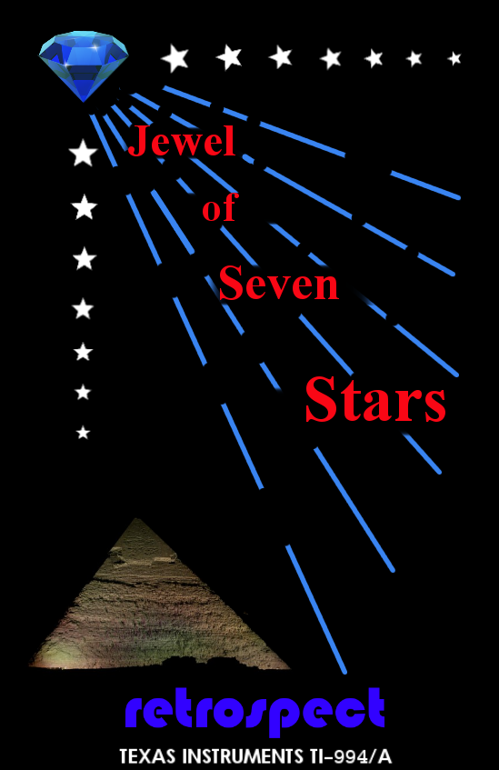 Jewel of Seven Stars advertisement