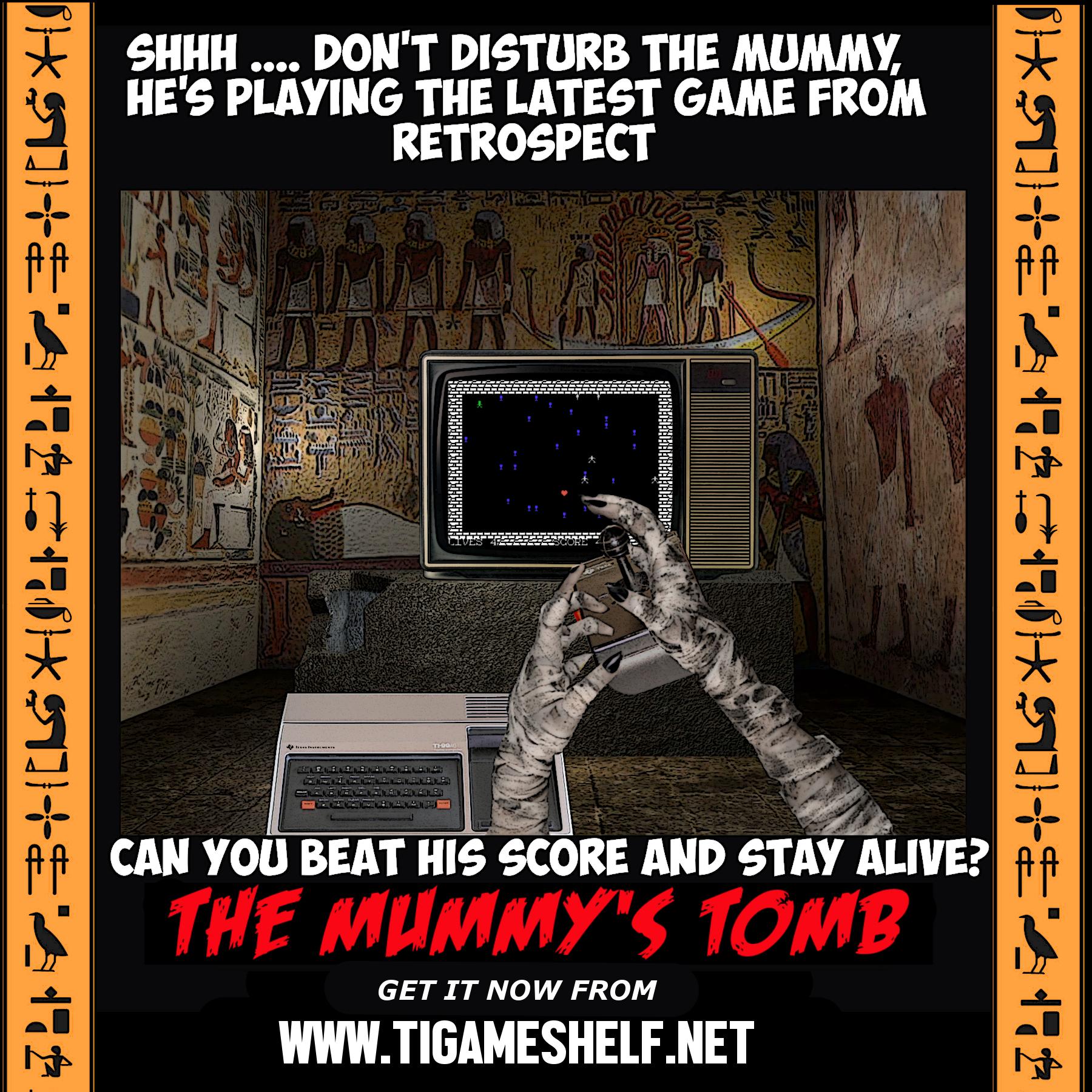 The Mummy's Tomb advertisement